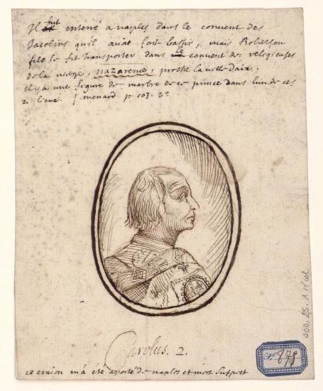 Portrait de Charles II d'Anjou_0