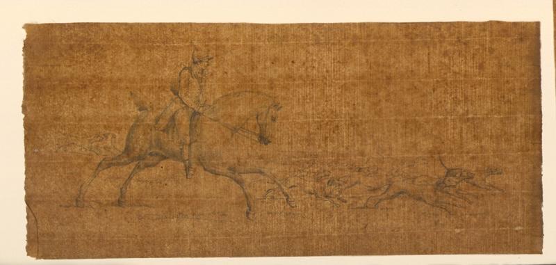 TURPIN DE CRISSE Lancelot Théodore Comte de : Chasse à courre avec chiens