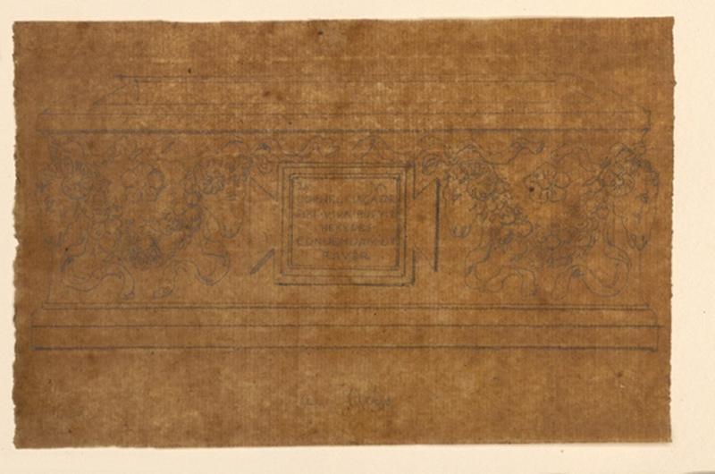 TURPIN DE CRISSE Lancelot Théodore Comte de (dessinateur, peintre) : Sarcophage à Arles