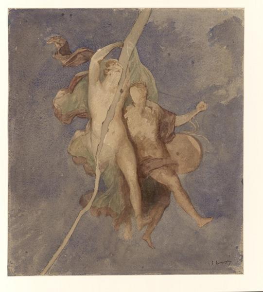Pompei, étude d'après une fresque_0