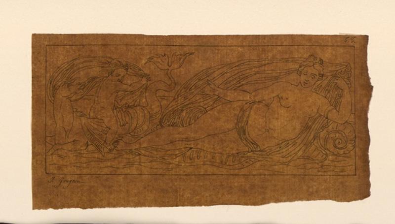 TURPIN DE CRISSE Lancelot Théodore Comte de, GOUJON Jean (d'après) : Copie d'après un bas-relief de Goujon