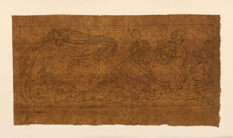 Copie d'après un bas-relief de Goujon