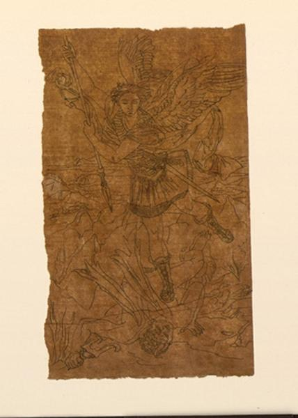 Saint Michel terrassant le dragon ; Saint-Michel de Michel-Ange_0