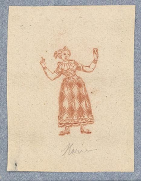 Costume d'acteur dans Mme Angot : Marie_0