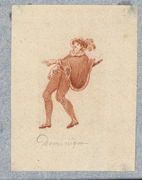 Costume d'acteur dans Mme Angot : Dominique_0