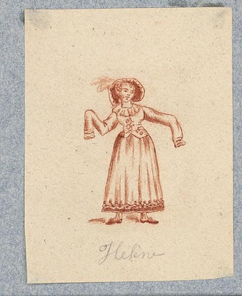 Costume d'acteur dans Mme Angot : Hélène_0