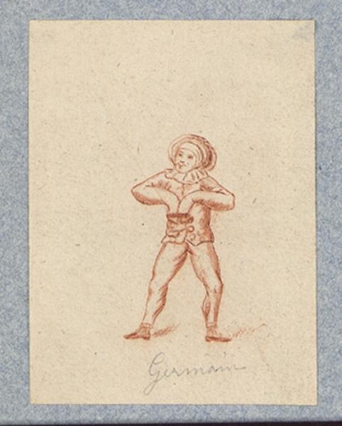 Costume d'acteur dans Mme Angot : Germain_0