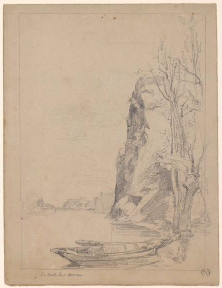 CESBRON-LAVAU Jules (dessinateur, attribué) : La roche de Mûrs