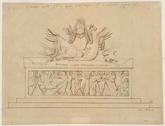 Monument du général Bonchamps (Premier projet)_0