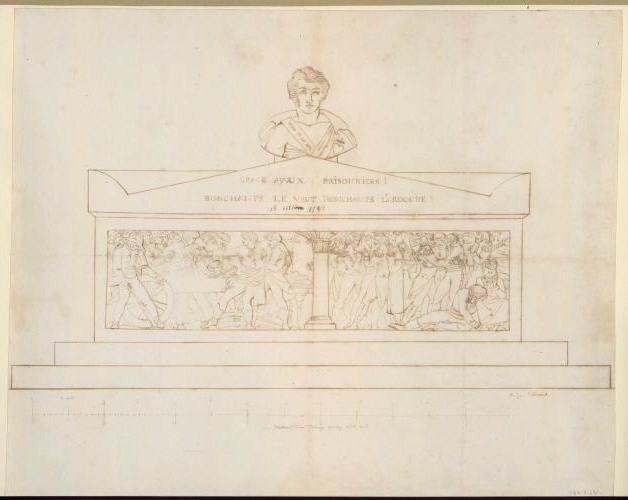 Monument du général Bonchamps (deuxième projet)