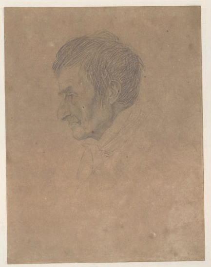 Portrait de Louis Proust (Vu de profil)