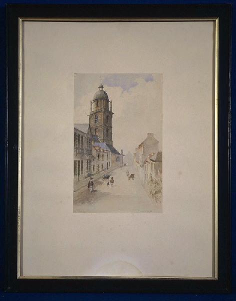 Bourg-de-Batz. Vue d'une rue
