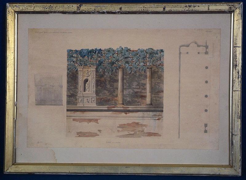 Gênes, treilles dans le jardin du palais Doria_0