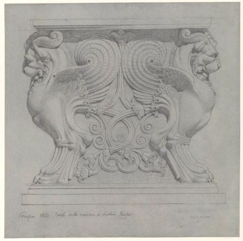 Pompéi, table de la maison de Sublius Rufus_0