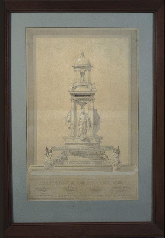 Projet de fontaine pour la place des Jacobins, Lyon_0