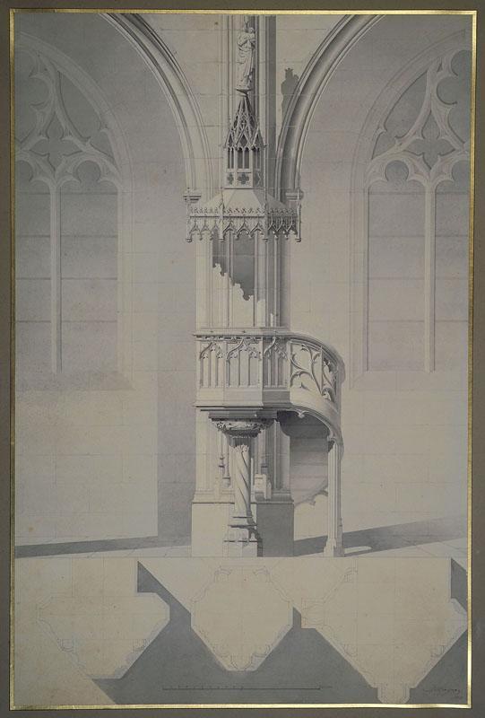 Eglise Saint-Bernard, Paris, projet_0