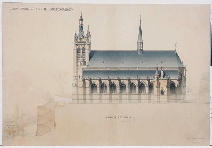 Eglise de Montmorency (Val-d'Oise) (Eglise Saint-Martin)_0