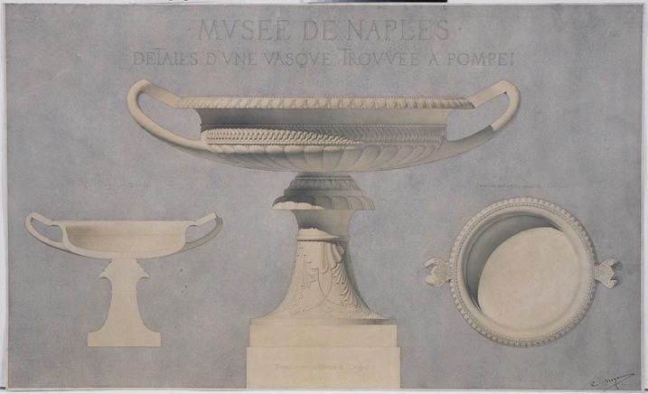 Musée de Naples, détails d'une vasque_0