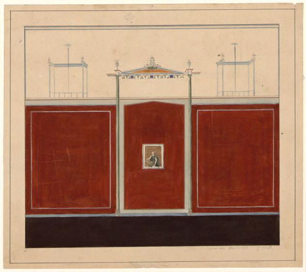Peinture murale antique (Musée de Naples)_0