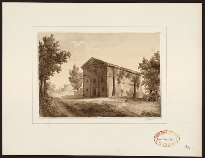 GARNAUD Antoine Martin (dessinateur) : Temple