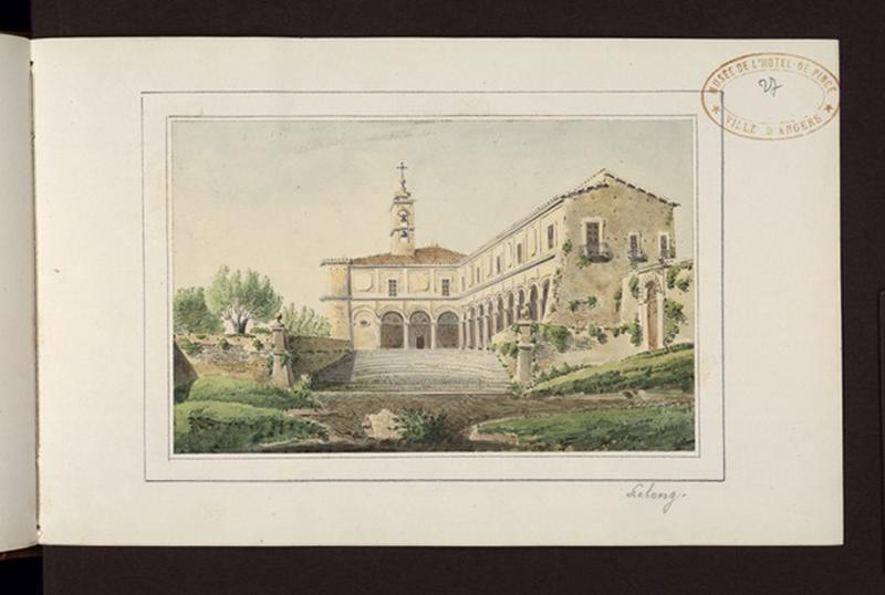 LELONG Paul (dessinateur, peintre) : Bâtiments religieux