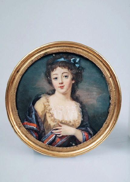 Autoportrait de Mme Benoist ; Jeune femme portant une écharpe tricolore ; Portrait d'une actrice_0