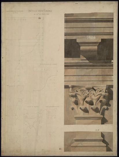 Amphithéâtre du Colisée (Détail du IV ordre.)_0