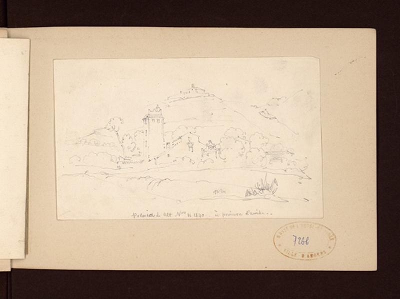 HAWKE Peter (?), OUVRIE Pierre Justin (?) : Paysage