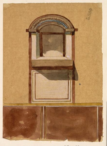 LENEPVEU Jules Eugène (dessinateur) : Fenêtre