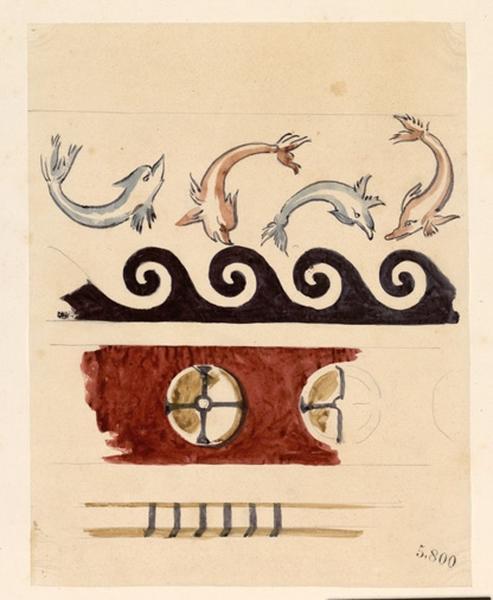 LENEPVEU Jules Eugène (dessinateur) : Frise