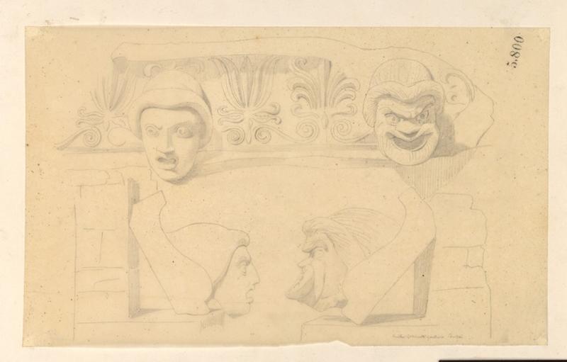LENEPVEU Jules Eugène (dessinateur) : Tête