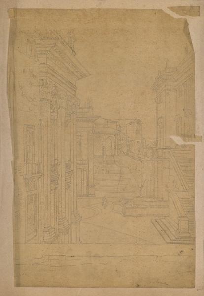 LENEPVEU Jules Eugène (dessinateur) : Rome