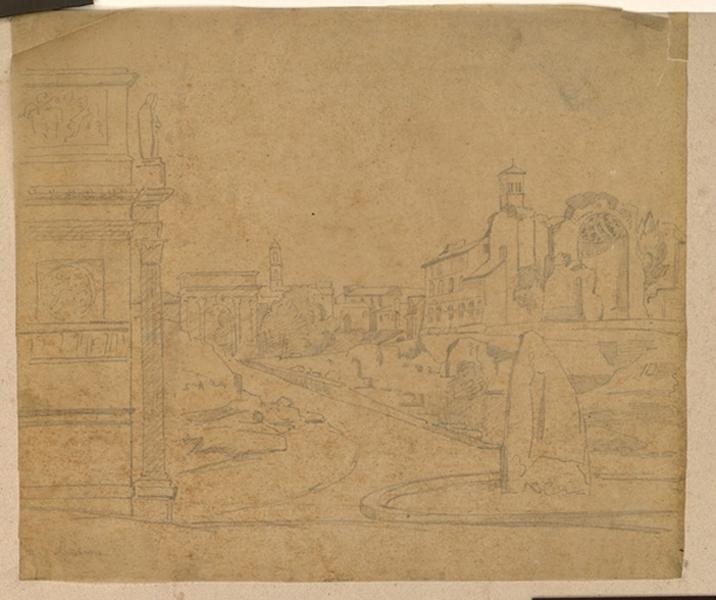 Rome, vue du Forum