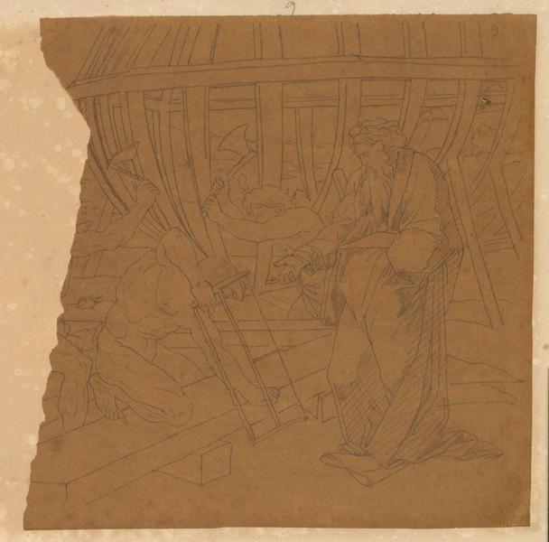 Construction de l'arche de Noé ; Personnage_0