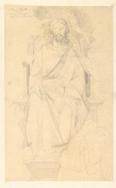 LENEPVEU Jules Eugène (dessinateur), BONDONE Ambrogio (d'après), GIOTTO (dit) : Giotto