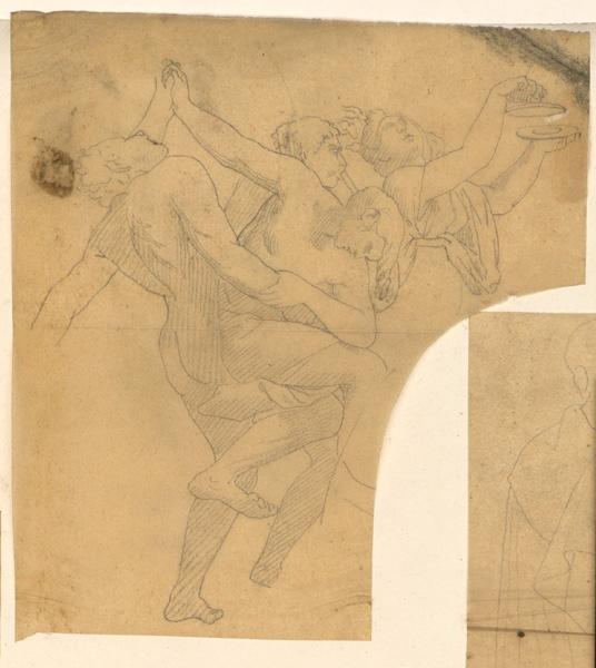 scène de danse ; Combat
