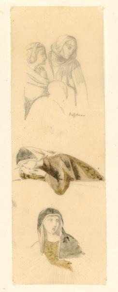 LENEPVEU Jules Eugène (dessinateur) : Religieux