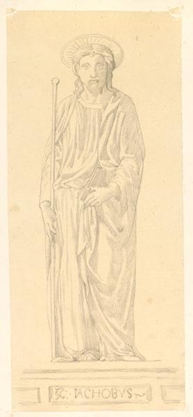 LENEPVEU Jules Eugène (dessinateur) : Saint Jacques