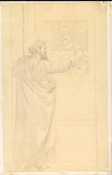 LENEPVEU Jules Eugène (dessinateur) : Saint