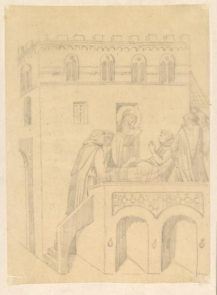 LENEPVEU Jules Eugène (dessinateur) : Sainte