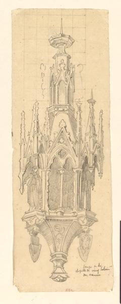 lampe de la Chapelle de Sienne