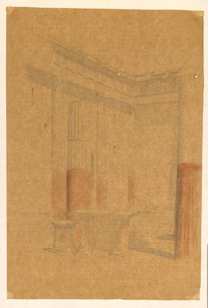 LENEPVEU Jules Eugène (dessinateur) : Ruine