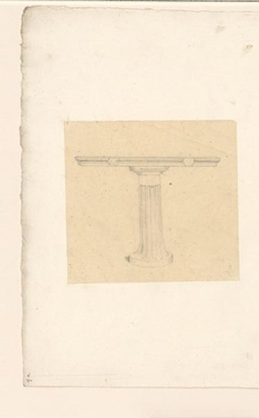 LENEPVEU Jules Eugène (dessinateur) : Colonne