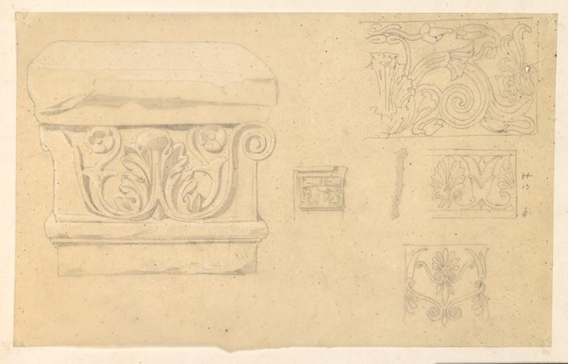 LENEPVEU Jules Eugène (dessinateur) : Motifs floraux