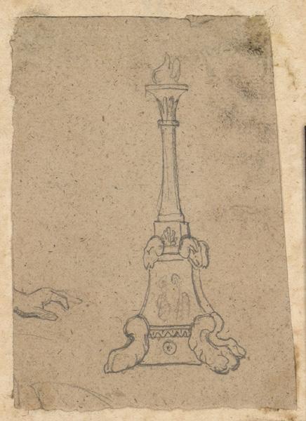 LENEPVEU Jules Eugène (dessinateur) : Monument
