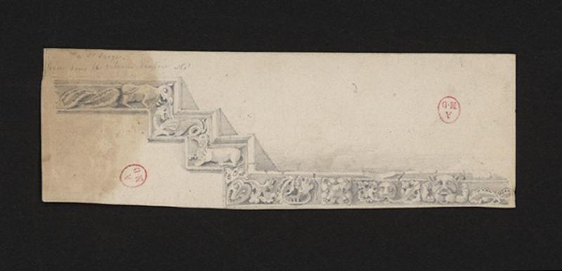 HAWKE Peter (lithographe) : Détails de Saint-Serge