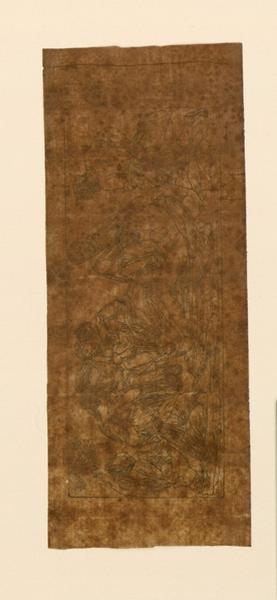 TURPIN DE CRISSE Lancelot Théodore Comte de (dessinateur, peintre) : Petite frise de scène mythologique