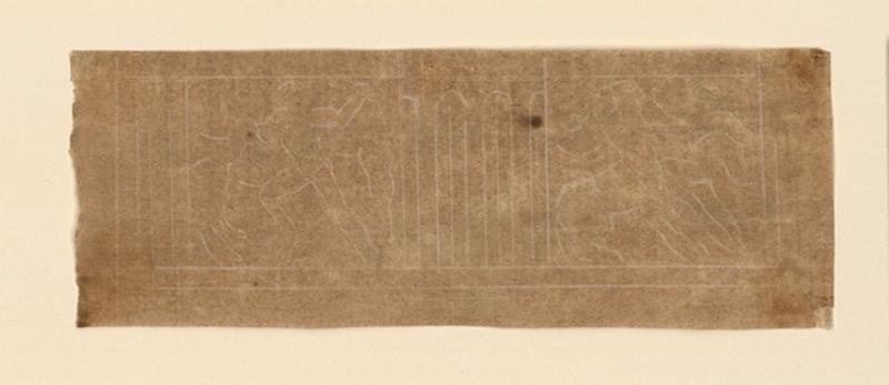 Motifs entre métopes de l'ordre dorique