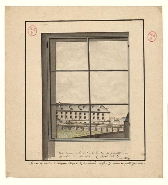 POTTIER (dessinateur) : Ecole de cavalerie de Saumur