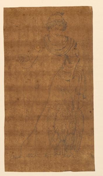 TURPIN DE CRISSE Lancelot Théodore Comte de : Scène mythologique